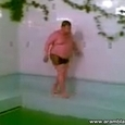 Sliding Fat Guy