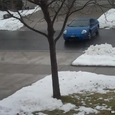 Slick Driveway after Freezing Rain