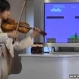 Super Mario Theme Song on a Violin