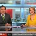 BBC Weatherman Finger Fail
