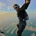 Beautiful Dibai Skydiving Views