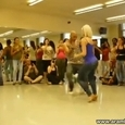 Cute Girl Dances Bachata