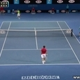 Awesome Tennis Catch