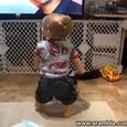 Funny Little Dancing Boy