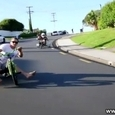 Cool Trike Drifting