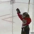 9-Year Old Scores Incredible Hockey Goal