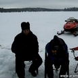 Crazy Ice Fishing in Canada