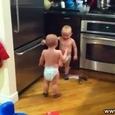 Twin Baby Boy Conversation