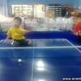Ping Pong Training in China