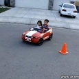 Toy Car Drifting