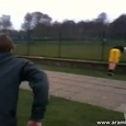 Epic Soccer Ball Backfire