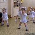 Hard bass dance in kindergarden