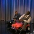 Shaq Falls Off A Pink Mini Car