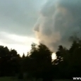 Amazing Face in The Clouds Before a Storm