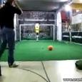 Impressive Soccer Goalie Robot