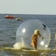 Blonde vs Water Sphere