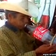 Mexican + Coke Bottle = Trumpet
