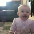 Funny Laughing Little Boy