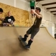 Awesome Backflip to Another Skateboard