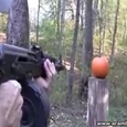 How To Create Halloween Pumpkin Using a Gun