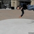 Great Breakdancing in Slow Motion