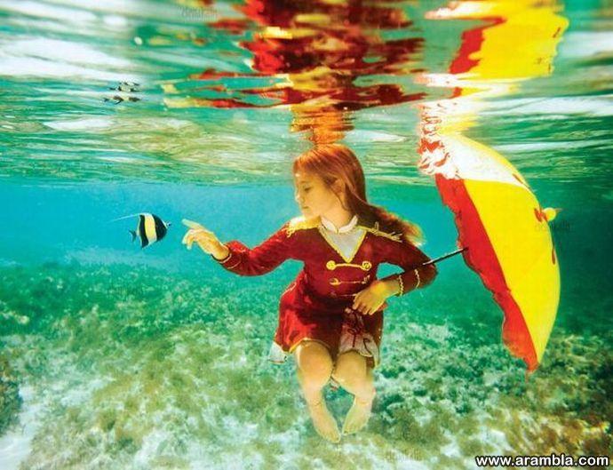Tüdruk ja kala