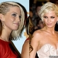 Celebrities with Short and Long Hair