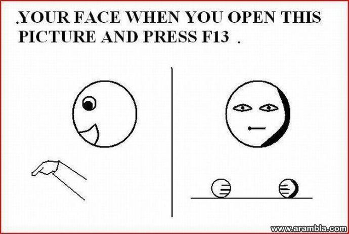 F13 button