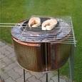Trummel-grill