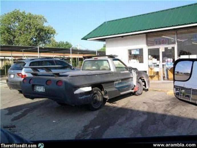 Corvette-truck