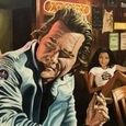 Movie Paintings by Justin Reed