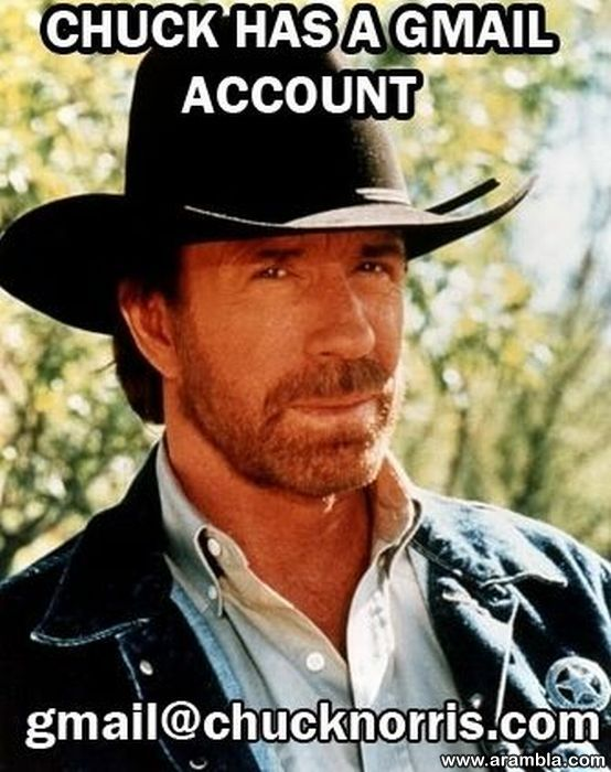 Chuck have Gmail