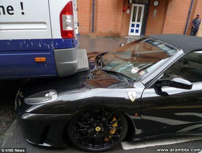 $215,000 Ferrari vs a Delivery Van
