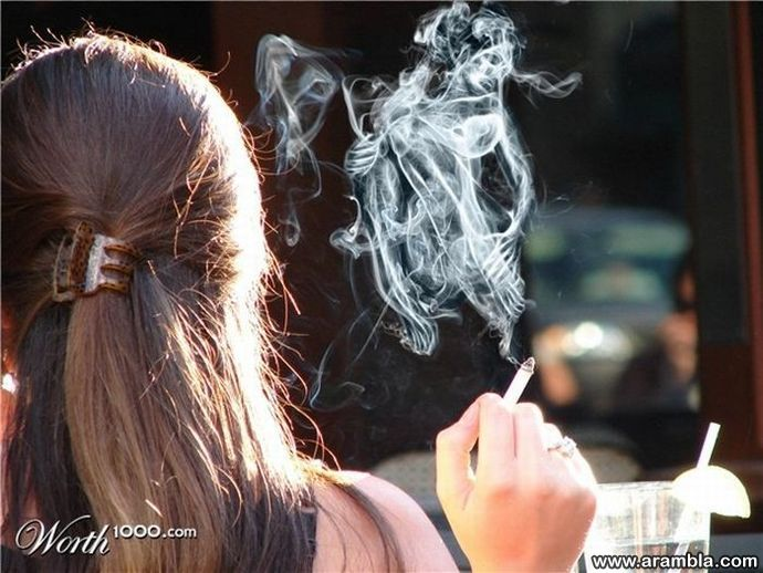 Beautiful Smoke Art