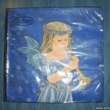 Uus pakk ingliga salvrätikuid